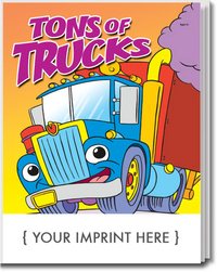 Tons of Trucks Coloring and Activity Book