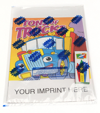 Tons of Trucks Coloring and Activity Book Fun Pack