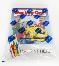 Our New Car Coloring and Activity Book Fun Pack