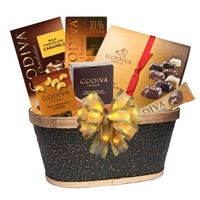 Godiva's Best Chocolate Gift Basket