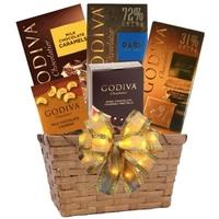 Chocolate Godiva Gift Basket
