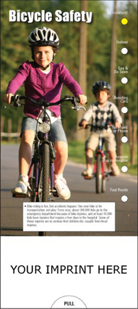 Bicycle Safety Slide Chart