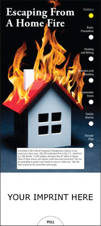 Escaping From A Home Fire Slide Chart