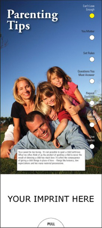 Parenting Tips Slide Chart