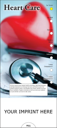 Heart Care Slide Chart