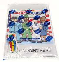 American Heroes Coloring and Activity Book Fun Pack