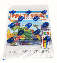 Fun to Color Coloring and Activity Book Fun Pack