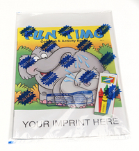 Fun Time Coloring and Activity Book Fun Pack