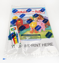 Animals on the Farm Coloring and Activity Book Fun Pack