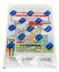 Travel Fun For Everyone Coloring and Activity Book Fun Pack