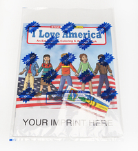 I Love America Coloring and Activity Book Fun Pack