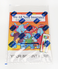 We All Need Insurance Coloring and Activity Book Fun Pack