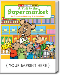 A Visit to the Supermarket Coloring and Activity Book