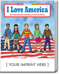 I Love America Coloring and Activity Book
