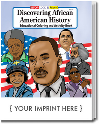 Discovering African American History Coloring Activity Book