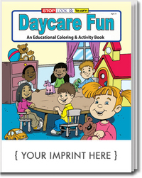 Daycare Fun Coloring and Activity Book