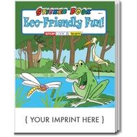 Eco-Friendly Fun Sticker Book