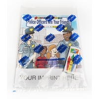 Police Officers Are Your Friends Sticker Book Fun Pack