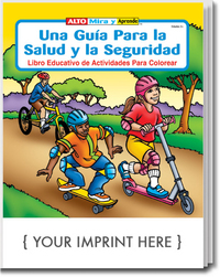A Guide to Health & Safety Spanish Coloring & Activity Book