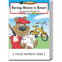 Saving Money Is Smart Paint With Water Book