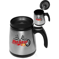 16 Oz. Stainless Steel Low Rider Mug