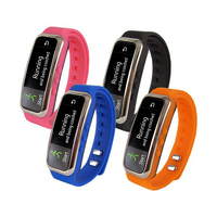Fitness Wristband With Bluetooth Pedometer, Calorie Counter
