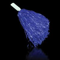 """Blue 16"""" Plastic Pom Pom"""
