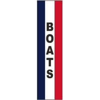 3' x 15' Message Square Flag - Boats
