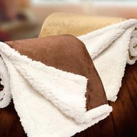 Starwood - Micro Mink Sherpa Throw Blanket
