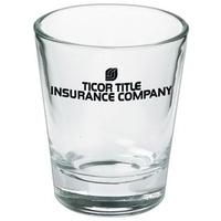 1.5 oz shot glass - clear