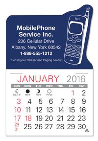 Cellphone Shaped Value Stick Calendar