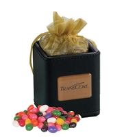 X-Cube Pen Holder filled with jelly beans