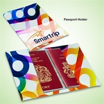 LEATHERETTE RFID PASSPORT HOLDER