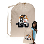 5 oz Natural Cotton Laundry Bag Personalized with Your Logo