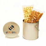 1 Gallon Two-Way Value Solid Color Popcorn Tin