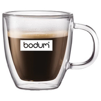 Bodum 10oz Double Wall Bistro Latte Mug