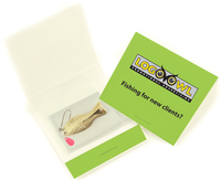 Premium Ice Fishing Lure Matchbook