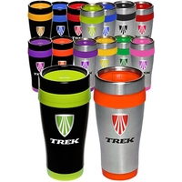 BPA Free 16 oz. Stainless Steel Insulated Travel Mug
