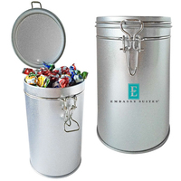 Air Tight Canister Tin Storage Box Hard Candy