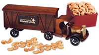 1920 Tractor-Trailer Truck with Extra Fancy Jumbo Cashews