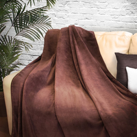 2-Person Coral Fleece Blanket (Blank)