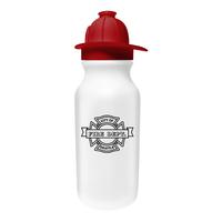 20 oz. Value Cycle Bottle with Fireman Helmet Cap