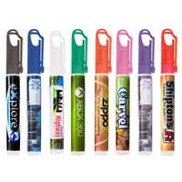 10ml Carabiner Clip Hand Sanitizer Spray- Yellow