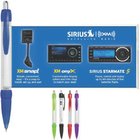 Banner Pen Click-Action Ballpoint with Pull-Out Banner