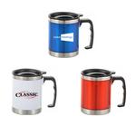 Wide Stainless Steel Mug