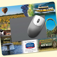 "Frame-It Flex®8""x9.5""x1/8"" Window/Photo Mouse Pad"