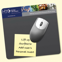 "Frame-It Lift®7.5""x8""x1/8"" DuraTec®-Lift-Top Mousepad"