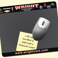 "Frame-It Lift®8""x9.5""x1/8"" DuraTec®-Lift-Top Mousepad"