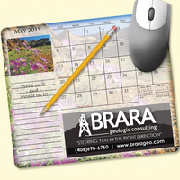 MousePaper®Calendar 24 Month (Landscape) Mouse Pad