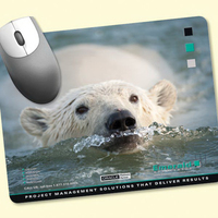"Peel&Place(R) 7""x9""x.015"" Ultra Thin Mouse Pad"